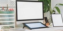 台式电脑空白屏幕精美图片