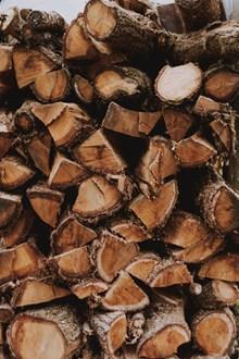一堆木材木头精美图片