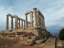 雅典波塞冬神庙图片大全