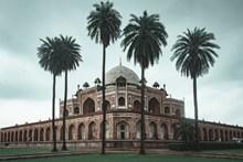 印度胡马雍陵陵墓外景高清图
