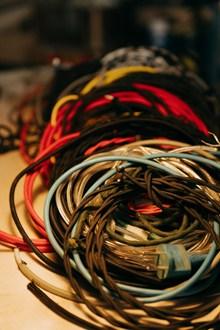 各式各样的电线图片