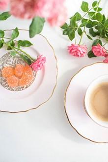 小清新下午茶摄影图片