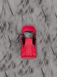 红色敞篷跑车图片大全