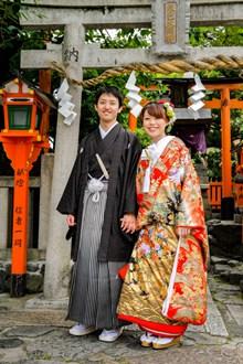 日本和服情侣高清图片