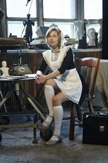 白色厚丝袜美女图片大全