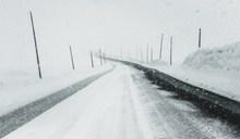 冬季公路雪景图片