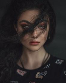 眼神悲伤美女图片素材