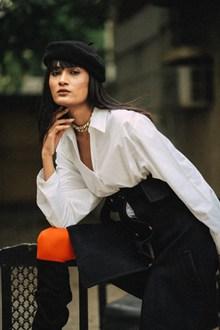 高冷时尚美女人体模特图片下载