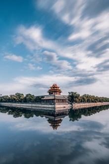 中式建筑风景图片素材