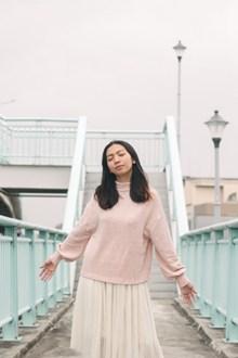 雪纺纱裙日本美女精美图片
