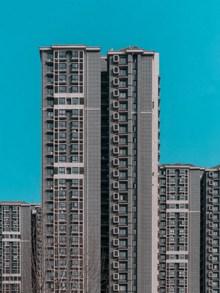 高住宅小区楼房图片素材