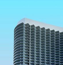 现代小区楼层外观图片素材