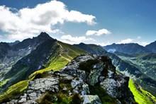 高原高地山脉景观图片素材
