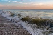 大海波涛海浪高清图片