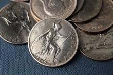 复古硬币图片