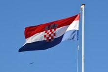 飘扬国家国旗图片素材