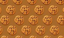 曲奇饼干背景图片素材