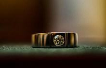 黄金钻戒戒指高清图