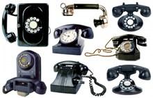 黑色老式座机电话图片下载