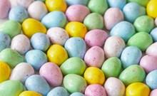 彩色鸡蛋复活节图片大全