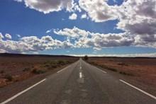 荒漠公路景观高清图