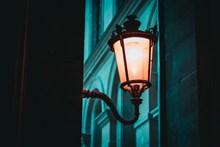 室外欧式壁灯图片