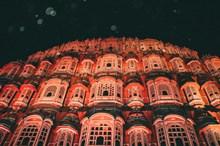 印度风之宫殿夜景高清图片