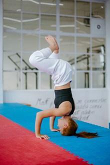 瑜伽倒立体式图片下载