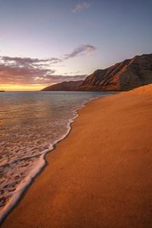 黄昏海滩图片大全