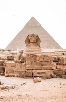 埃及金字塔狮身人面像图片