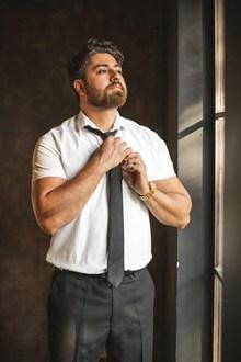 打领带的帅哥精美图片
