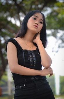 亚洲美女人像摄影艺术高清图片