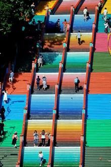 彩虹阶梯图片大全