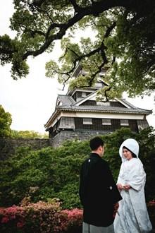 日本新郎新娘着装图片下载