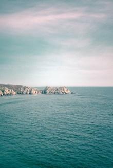 海上孤岛精美图片