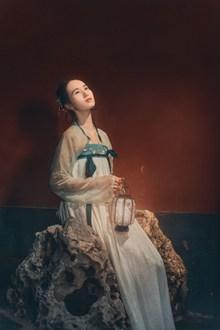 中国古典美女写真图片素材