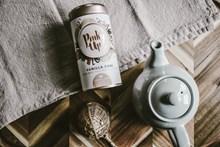 茶叶罐与茶壶图片下载