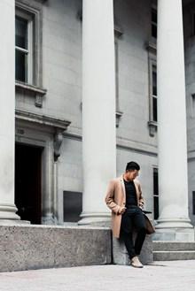 街拍欧美时尚帅哥高清图片