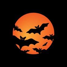 万圣之夜蝙蝠图片下载