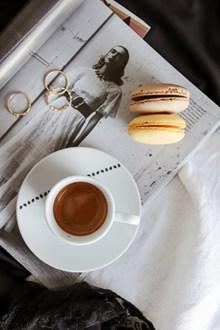下午茶咖啡马卡龙图片大全
