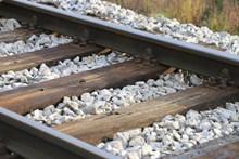 火车铁路轨道特写图片下载