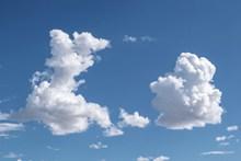蓝天洁白浮云图片大全