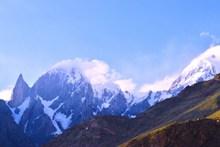 阿尔卑斯山雪山山脉图片大全