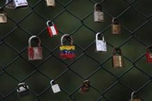 篱笆锁挂锁高清图片