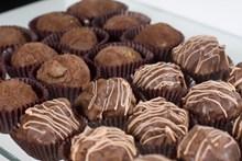 松露巧克力糖果图片大全