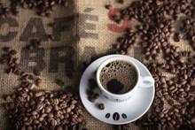 现磨苦咖啡精美图片