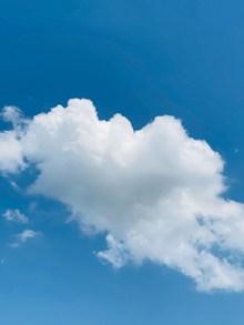 蓝天云团背景图片下载