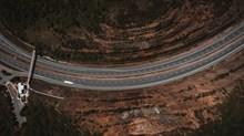 全景航拍高速公路图片大全