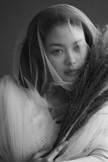 艺术婚纱人体写真图片素材