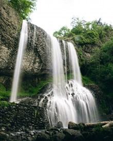 户外山水瀑布精美图片
